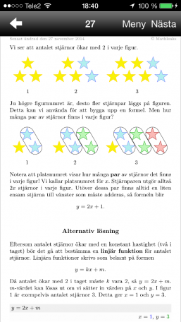 Matematik 5000 1c, blandade övningar kapitel 1-6, uppgift 27