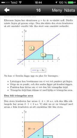 Matematik 5000 1c, blandade övningar kapitel 6, uppgift 16